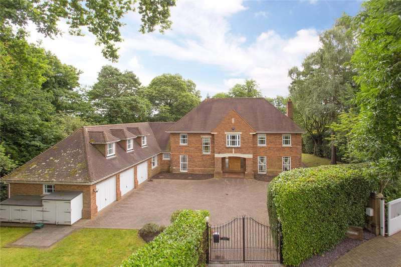 6 Bedrooms Detached House for sale in Bowater Ridge, St. George's Hill, Surrey, KT13