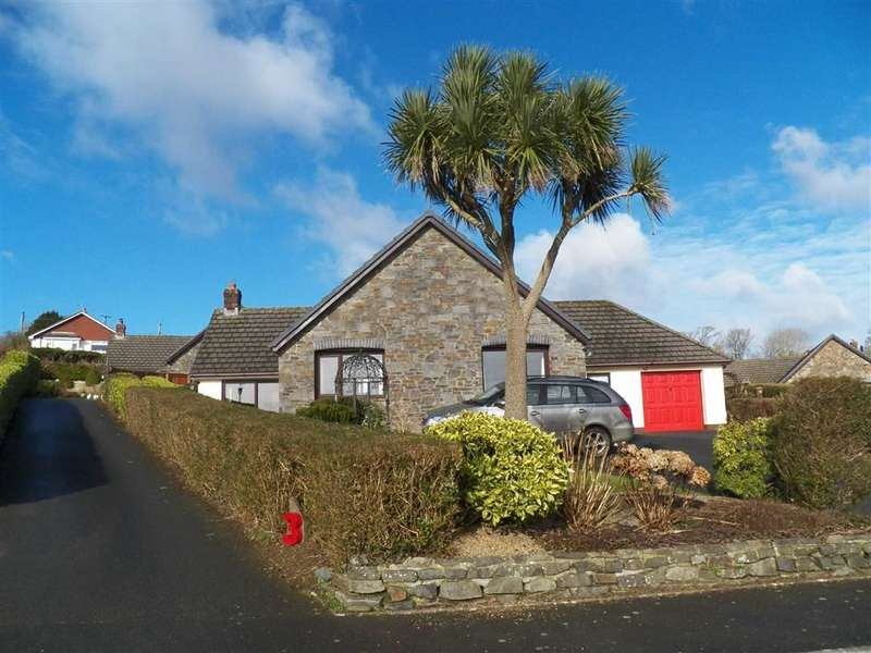 4 Bedrooms Detached Bungalow for sale in West Lane Close, Keeston, Haverfordwest