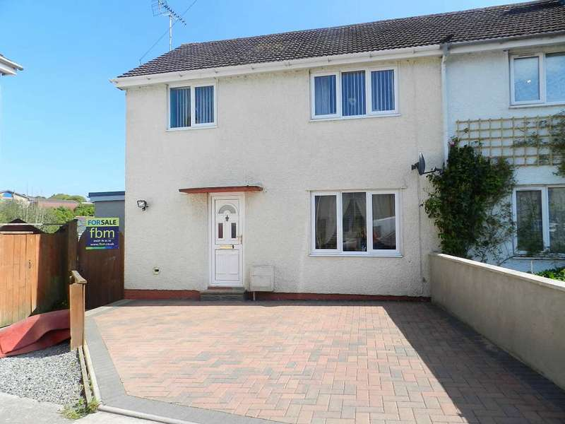 3 Bedrooms Semi Detached House for sale in Glen View, Merlins Bridge, Haverfordwest