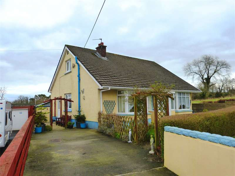 3 Bedrooms Detached Bungalow for sale in Lizville, Kiln Park Road, Narberth, Pembrokeshire