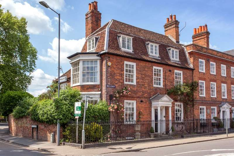 5 Bedrooms End Of Terrace House for sale in High Street, Marlow, Buckinghamshire, SL7