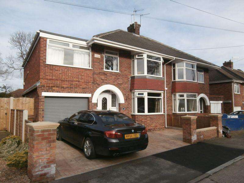 4 Bedrooms Semi Detached House for sale in Annandale Road, Kirk Ella