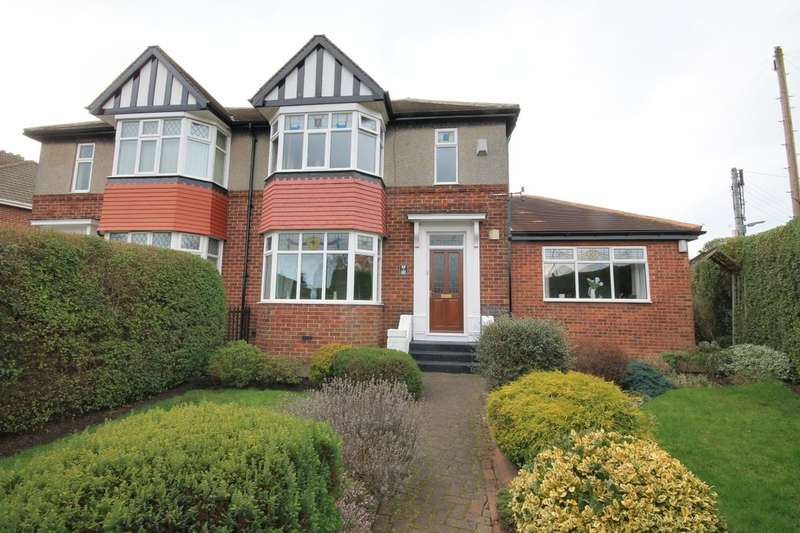 4 Bedrooms Semi Detached House for sale in Park Road North, Chester Le Street, DH3