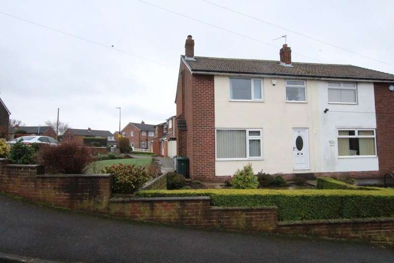 3 Bedrooms Semi Detached House for sale in Hillhead Drive, Birstall