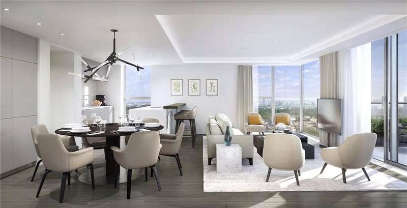 3 Bedrooms Flat for sale in Paddington Gardens, North Wharf Road, London