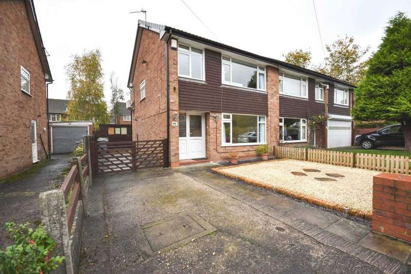 3 Bedrooms Semi Detached House for sale in VERNON ROAD, POYNTON