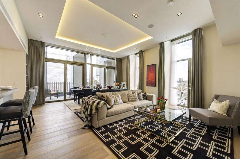 3 Bedrooms Apartment Flat for sale in Pearson Square, Fitzroy Place, W1T