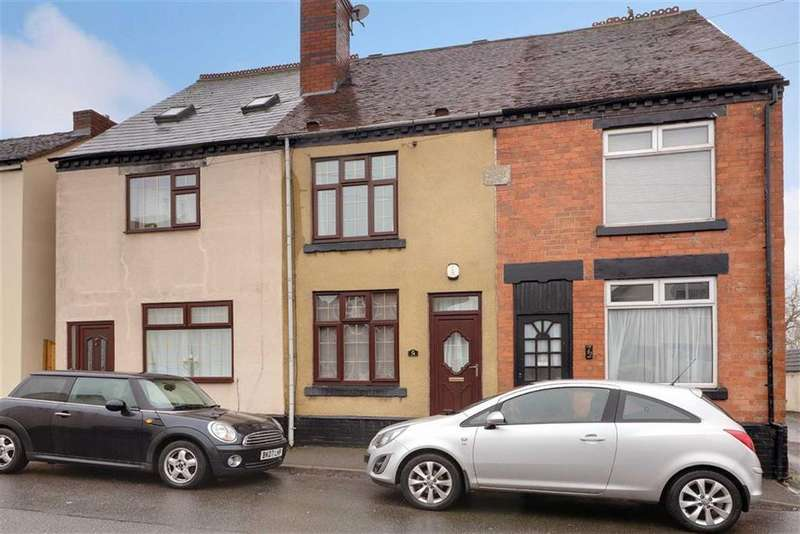3 Bedrooms Terraced House for sale in Stafford Street, Cannock, Staffordshire