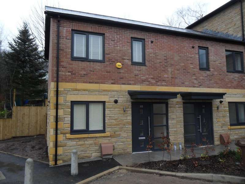 2 Bedrooms Mews House for rent in Bakestones Avenue, Delph