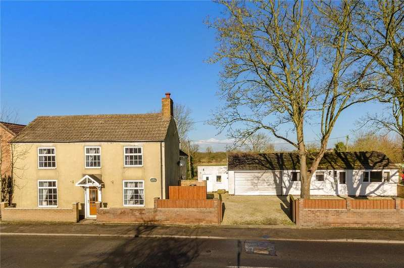 4 Bedrooms Detached House for sale in Main Road, Langworth, Lincoln, LN3