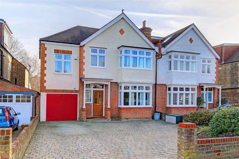 4 Bedrooms Semi Detached House for sale in Teddington Park Road, Teddington, TW11