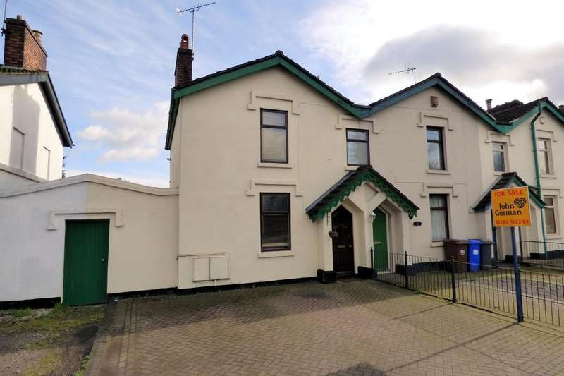2 Bedrooms Semi Detached House for rent in Horninglow Street, Burton-on-Trent
