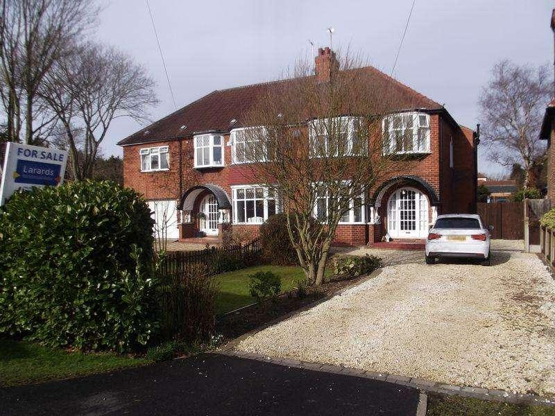 3 Bedrooms Semi Detached House for sale in West Ella Road, Kirk Ella