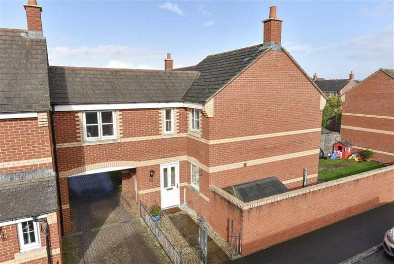 3 Bedrooms Semi Detached House for sale in Greyfriars Road, Exeter, Devon, EX4