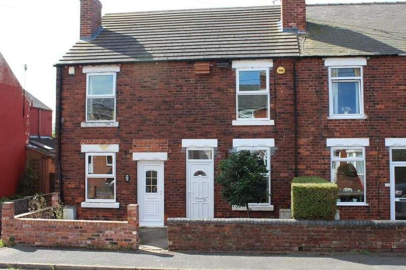 2 Bedrooms Terraced House for sale in 44, Gray Street, Clowne