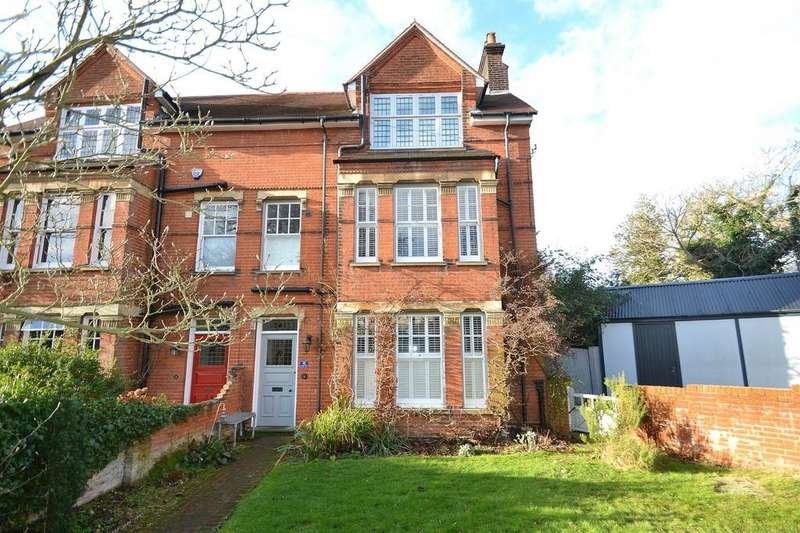 5 Bedrooms Semi Detached House for sale in Graham Road, Ipswich, IP1 3QE