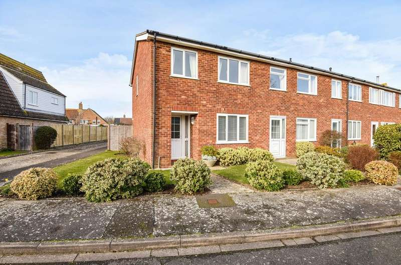 3 Bedrooms End Of Terrace House for sale in Locksash Close, West Wittering, PO20