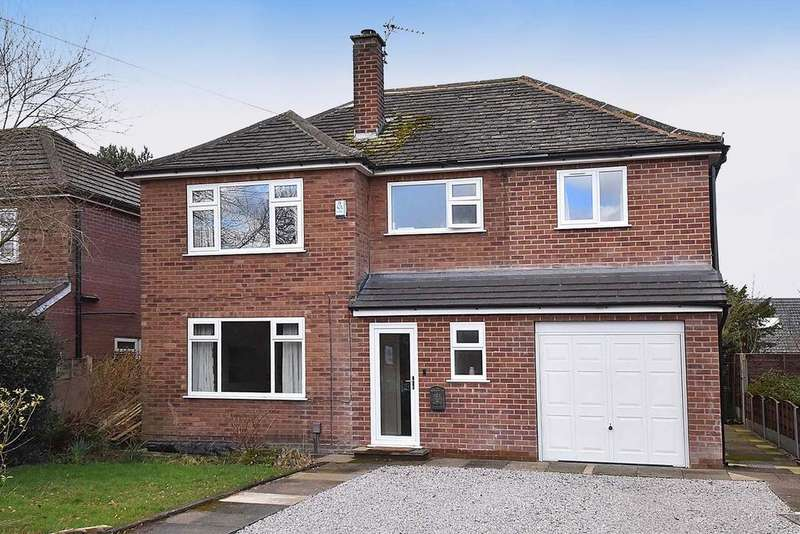 5 Bedrooms Detached House for sale in 161 Wilmslow Road, Handforth