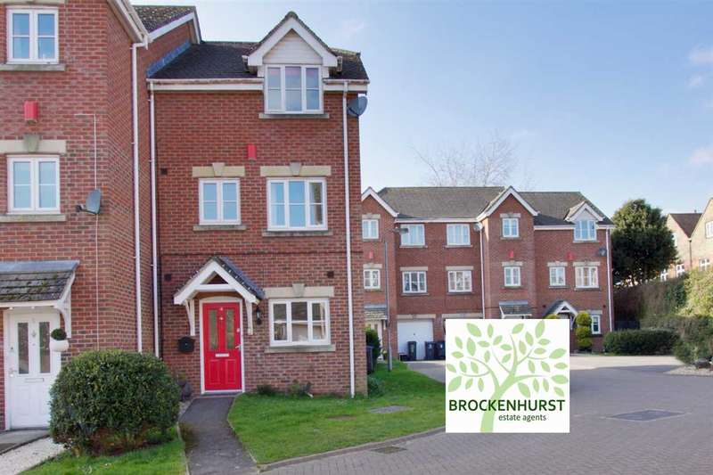 4 Bedrooms End Of Terrace House for sale in Rawlings Court, Ludgershall