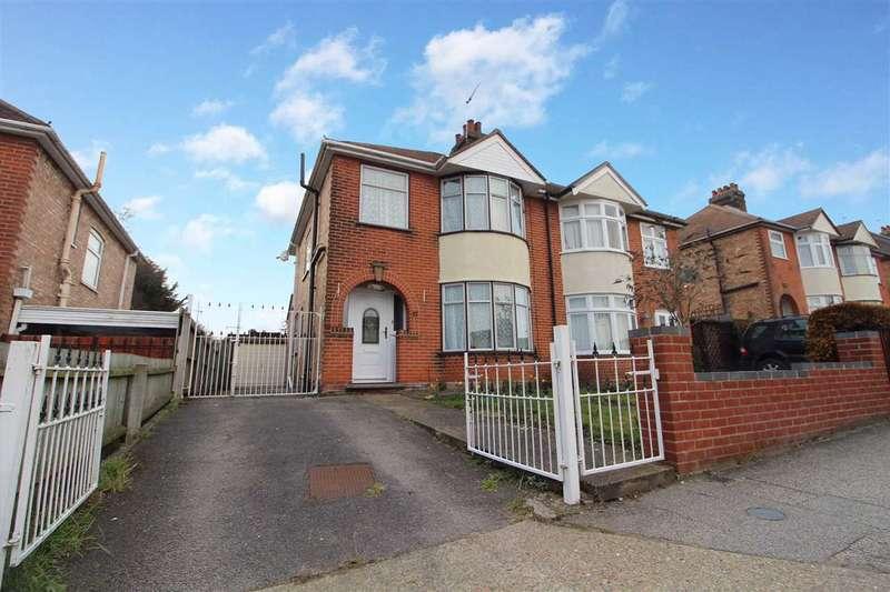 3 Bedrooms Semi Detached House for sale in Beechcroft Road, Ipswich
