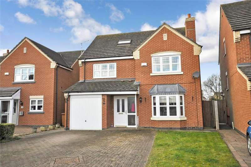6 Bedrooms Detached House for sale in Durham Close, Melton Mowbray, Leicestershire