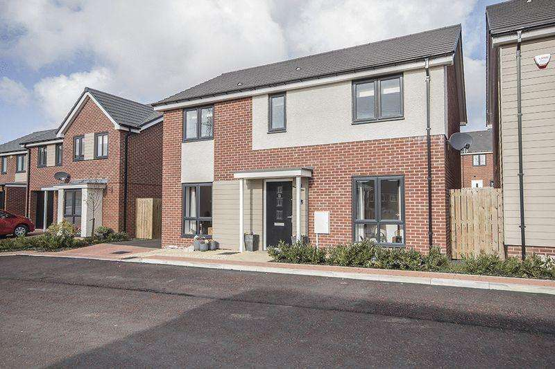 4 Bedrooms Detached House for sale in Bridget Gardens, Great Park, Newcastle upon Tyne