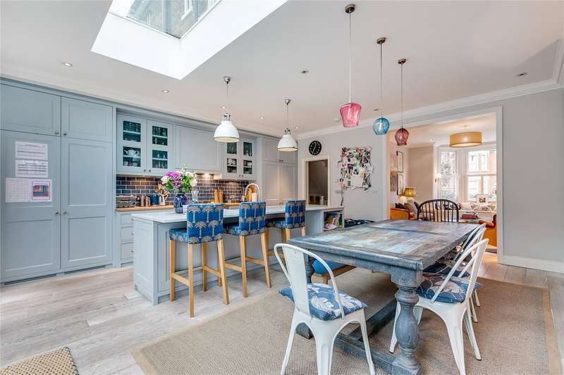 5 Bedrooms Semi Detached House for sale in Highlever Road, North Kensington, London, W10