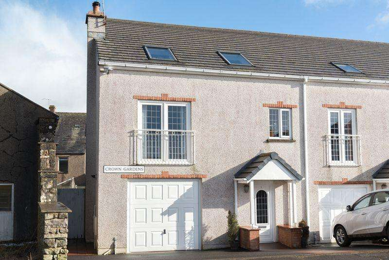 3 Bedrooms Town House for sale in 1 Crown Gardens, Shap, Penrith