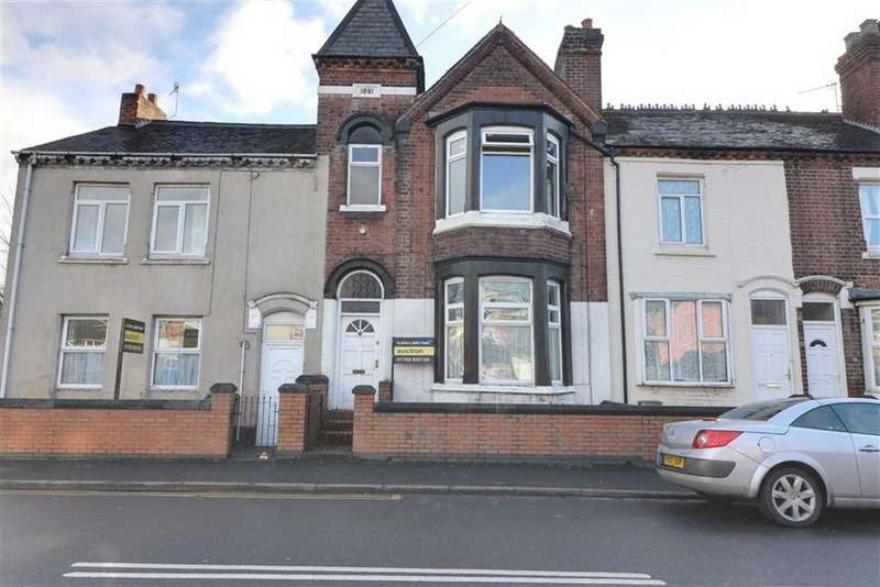 3 Bedrooms Terraced House for sale in London Road, Stoke-on-Trent