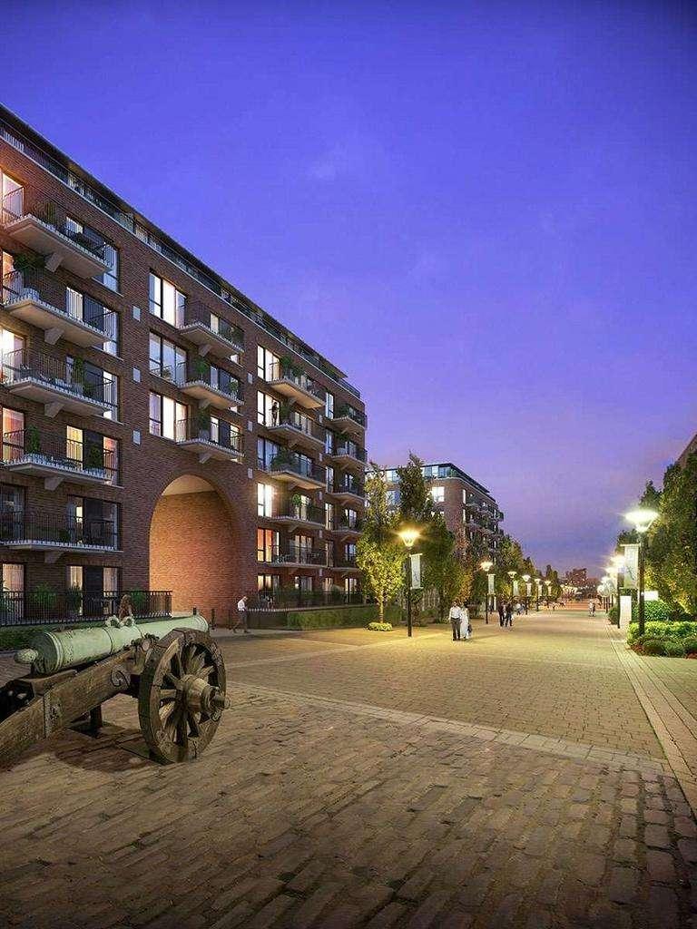 1 Bedroom Ground Flat for sale in Pavillion Square, Royal Arsenal Riverside SE18