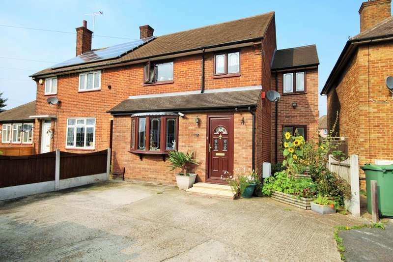 4 Bedrooms Semi Detached House for sale in Frances Gardens, South Ockendon