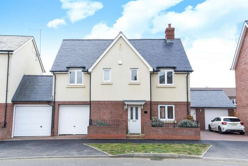 4 Bedrooms Detached House for sale in Berryfields, Aylesbury, HP18