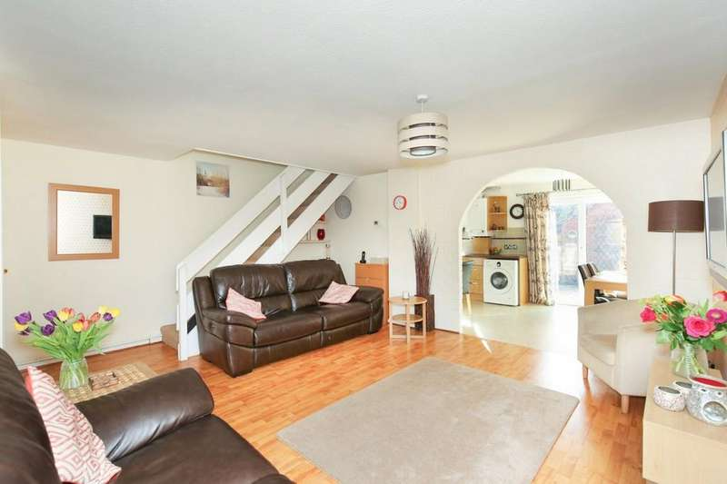 3 Bedrooms Terraced House for sale in Stonebridge Drive, Frome