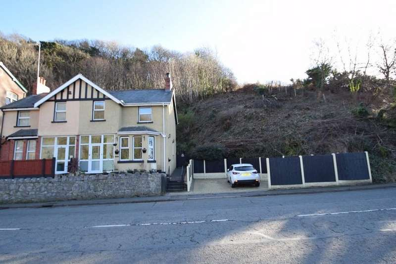 3 Bedrooms Semi Detached House for sale in Conway Road, Mochdre