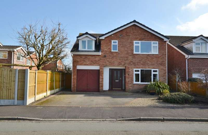 4 Bedrooms Detached House for sale in Nairn Avenue, Holmes Chapel