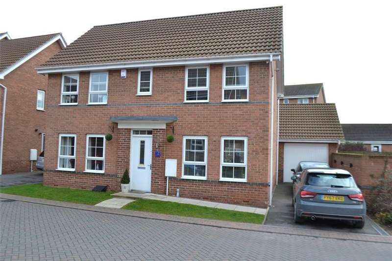 4 Bedrooms Detached House for sale in Osprey Drive, Scunthorpe, North Lincolnshire, DN16