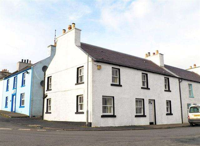 3 Bedrooms End Of Terrace House for sale in 9 Main Street, Port Charlotte, Isle of Islay, PA48 7TX