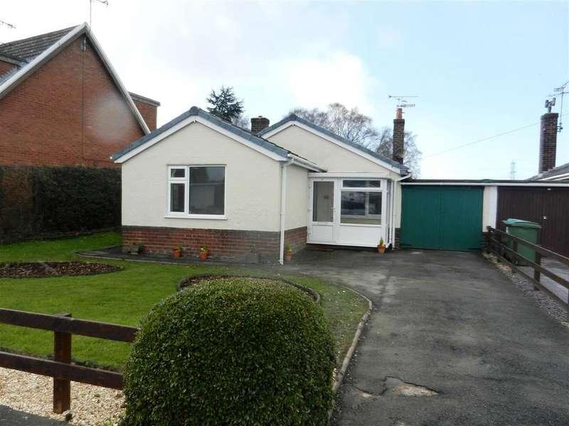 2 Bedrooms Detached Bungalow for sale in Bryn Siriol, Coedpoeth, Wrexham