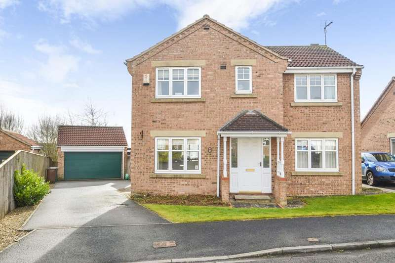 4 Bedrooms Detached House for sale in Worsley Court, Malton YO17