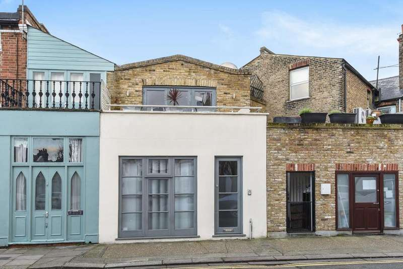 2 Bedrooms Terraced House for sale in Shorrolds Road, Fulham