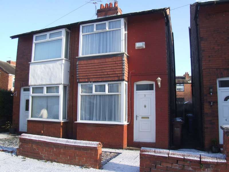 2 Bedrooms Semi Detached House for rent in Tewkesbury Road, Cheadle Heath, Stockport, SK3 0SQ