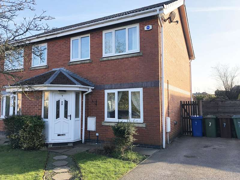 3 Bedrooms Semi Detached House for sale in Haseley Close, Radcliffe, Manchester, M26 3BU