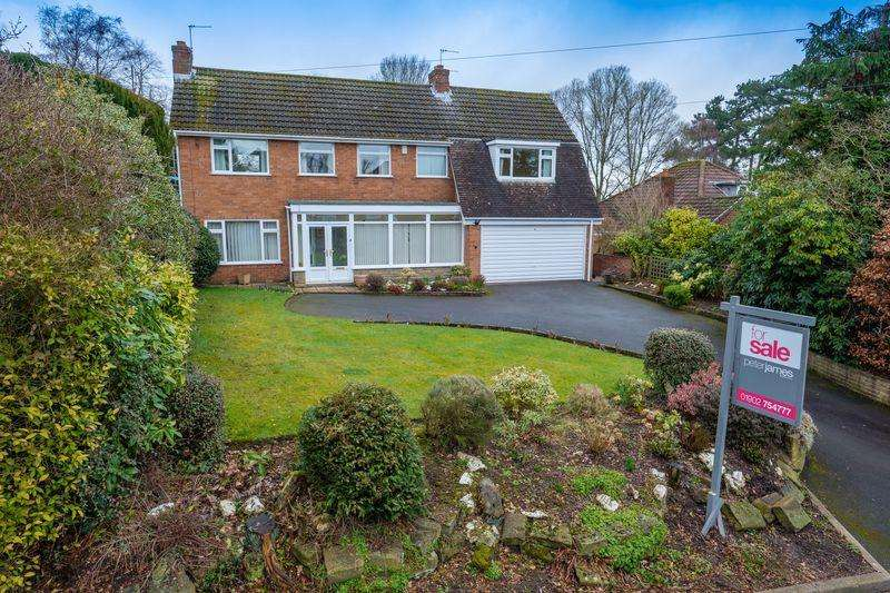 4 Bedrooms Detached House for sale in Lothians Road, Tettenhall, Wolverhampton
