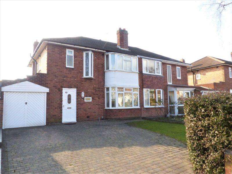 3 Bedrooms Semi Detached House for sale in Rosslyn Road, Sutton Coldfield