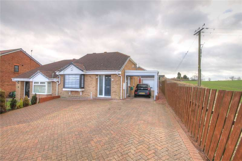 2 Bedrooms Semi Detached Bungalow for sale in Furness Close, Bishop Auckland, County Durham, DL14