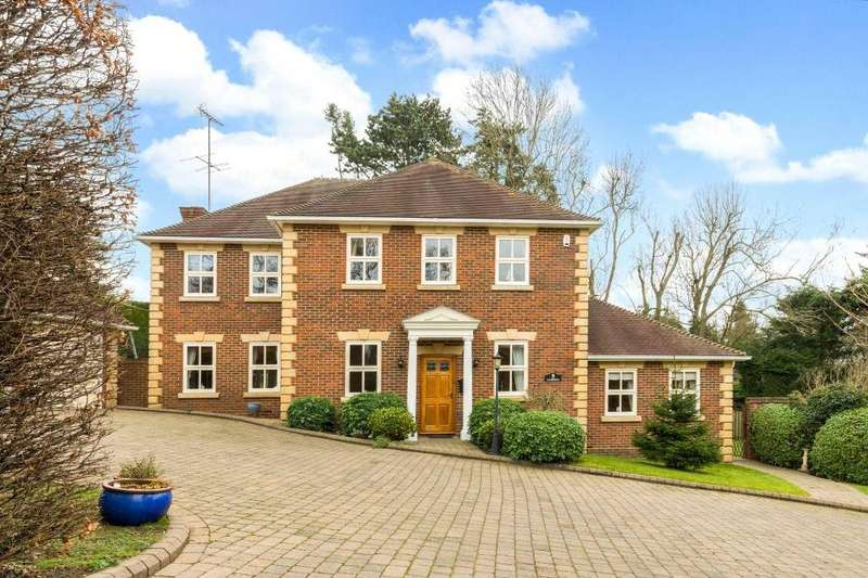 5 Bedrooms Detached House for sale in Balcary Gardens, Berkhamsted, Hertfordshire, HP4