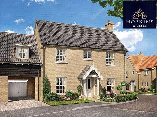 4 Bedrooms Link Detached House for sale in Alconbury Weald, Alconbury, Huntingdon, Cambridgeshire, PE28