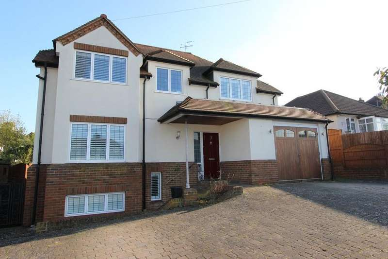 4 Bedrooms Detached House for sale in Partridge Mead, Banstead