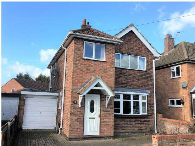 3 Bedrooms Detached House for sale in Balmoral Road, Melton Mowbray, LE13