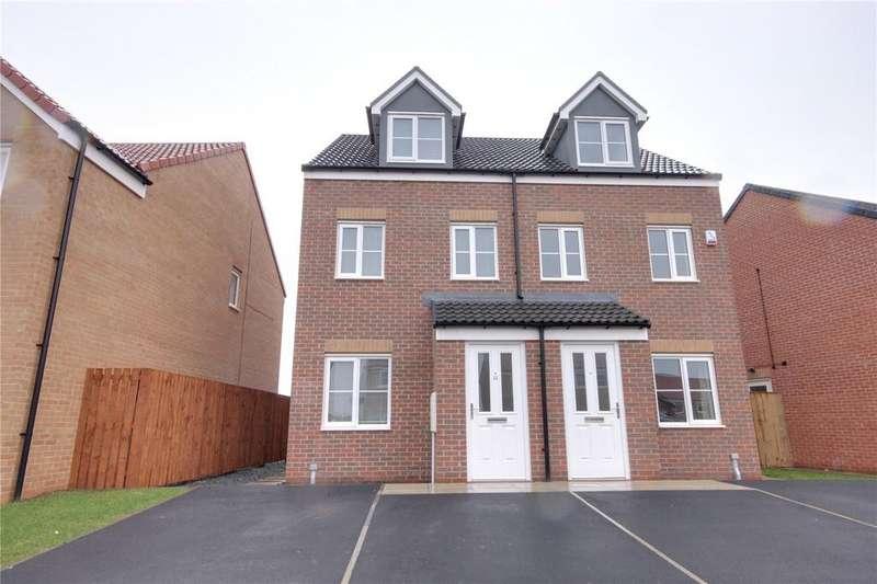 3 Bedrooms Semi Detached House for rent in Bourne Morton Drive, Ingleby Barwick